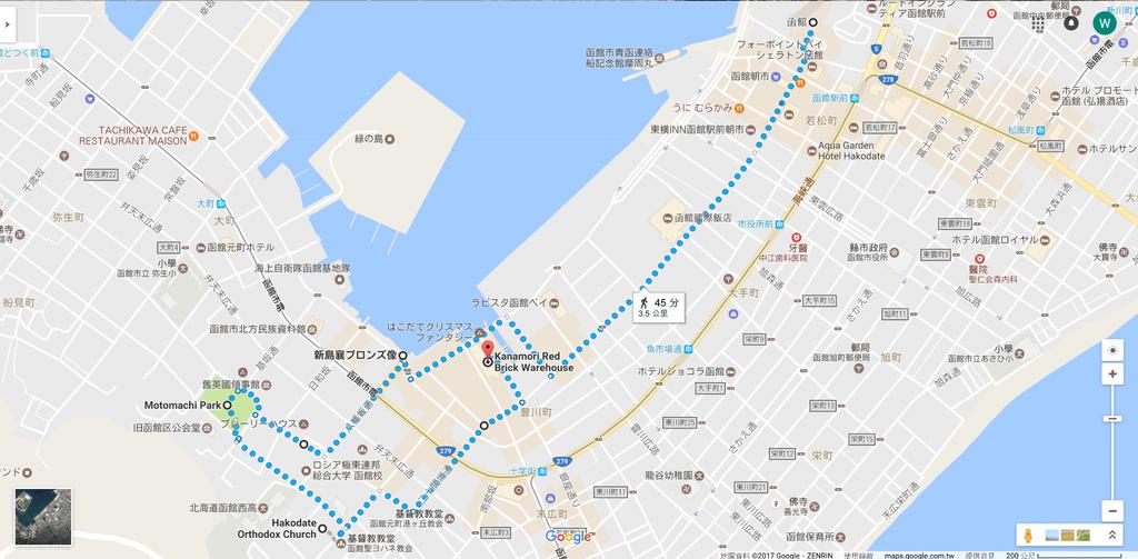 [日本東北自助行]-延伸北海道函館-元町、金森倉庫再発見(景點地圖化介紹)
