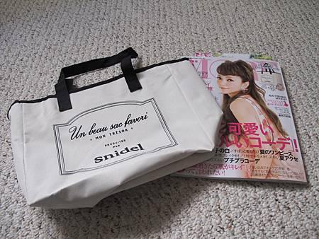 買日雜送日本Snidel 包