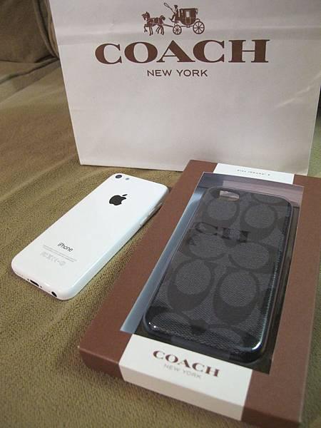我的 Coach i Phone 5C手機殼們