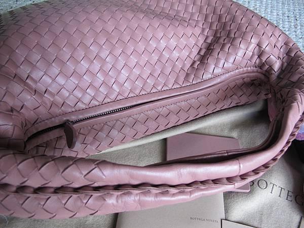 粉藕色 BV編織包
