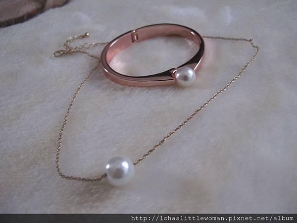 Adia Kibur 珍珠手環