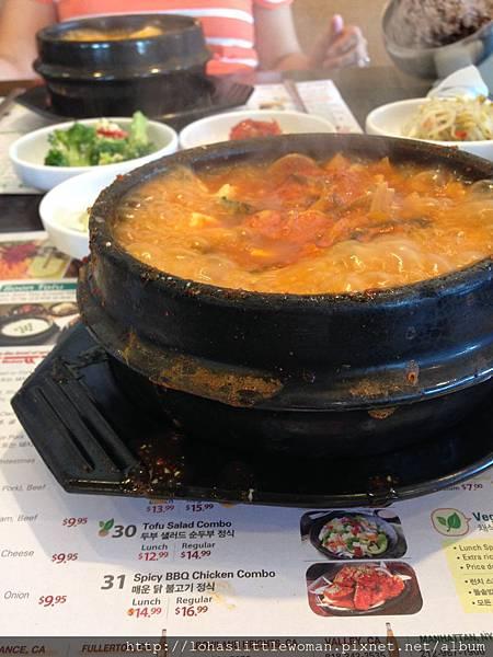 洛杉磯Tofu house韓國豆腐鍋