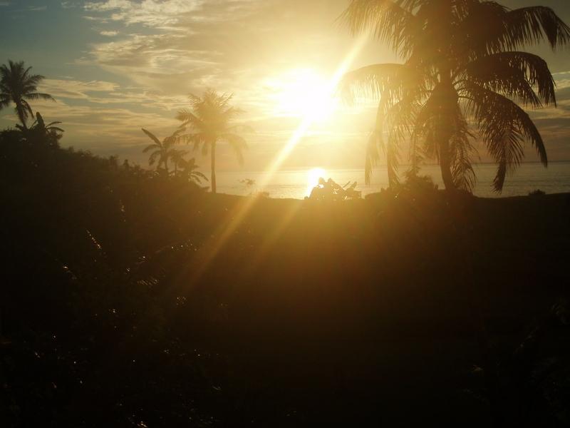 PALACE HOTEL 夕陽