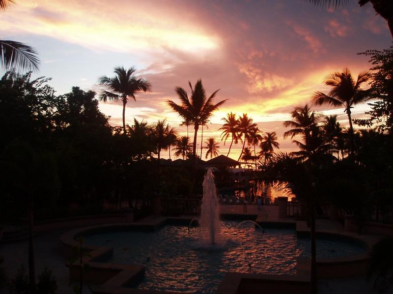 HYATT HOTEL 夕陽
