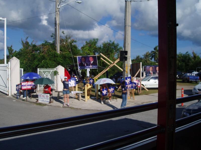 GUAM 選舉造勢