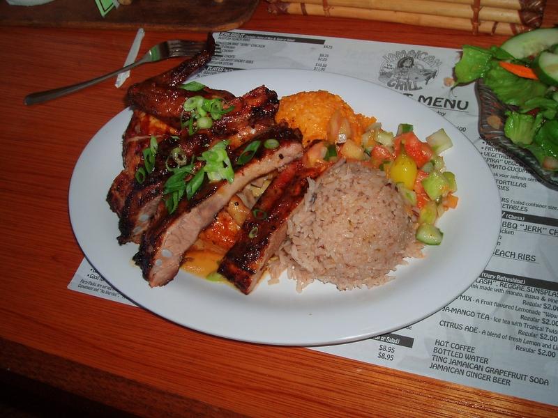 牙買加風味餐