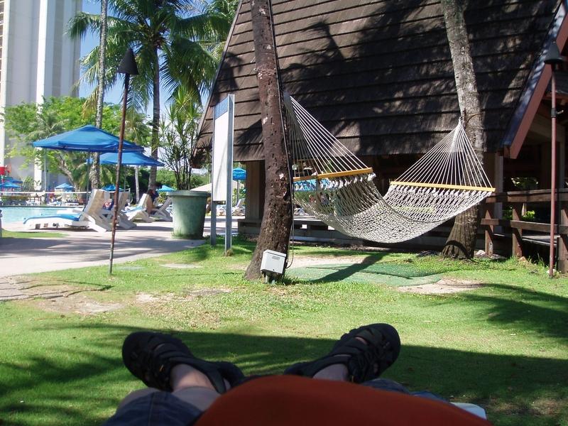 Pacific Islands Club - 我的腳