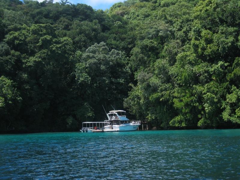 洛克群島 - 水母湖入口