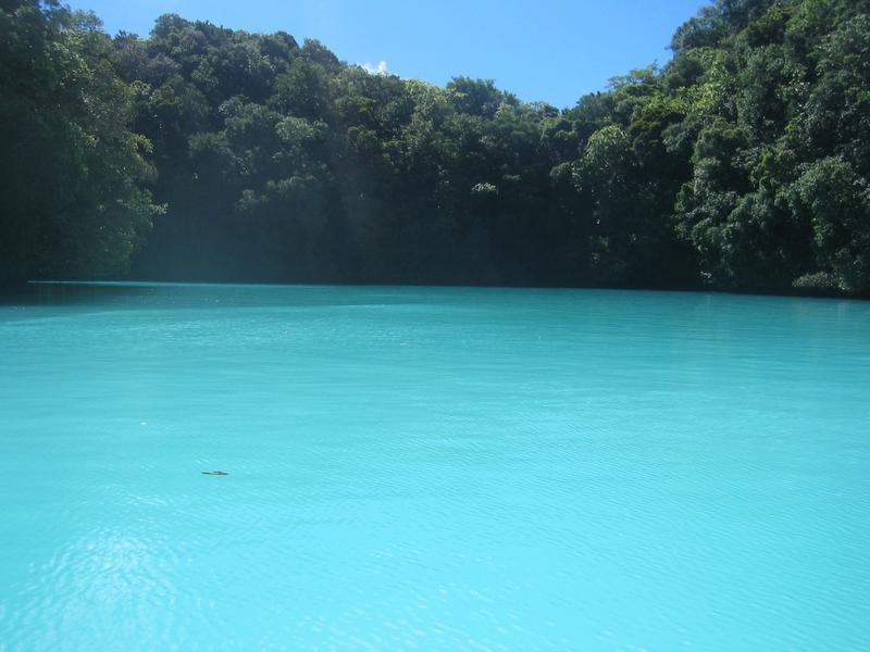 洛克群島 - 牛奶湖
