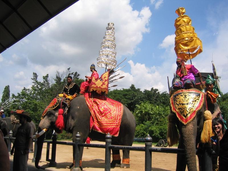 三攀象戰場樂園 - 大象表演