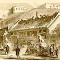 1830年文武廟前