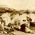 1840年港島海灣圖景