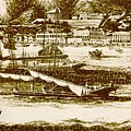 1845年香港海灣