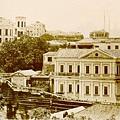 1868聖保祿書院(左上)及錫蘭樓