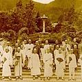 1869年香港市民浏覽植物園
