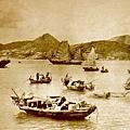 1874年簸箕灣漁港
