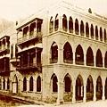 1885年皇後大道中及都爹利街街角間的渣打銀行