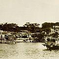 1898年長洲島上的海關檢查站