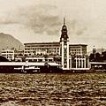 1933年天星碼頭鐵路車站及半島酒店