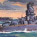 大和級主力戰艦 - 武藏號