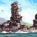 扶桑級主力戰艦 - 山城號