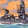 扶桑級主力戰艦 - 扶桑號