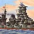 金剛級主力戰艦 - 榛名號