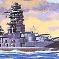 長門級主力戰艦 - 陸奧號