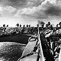 美軍陸戰隊搶灘