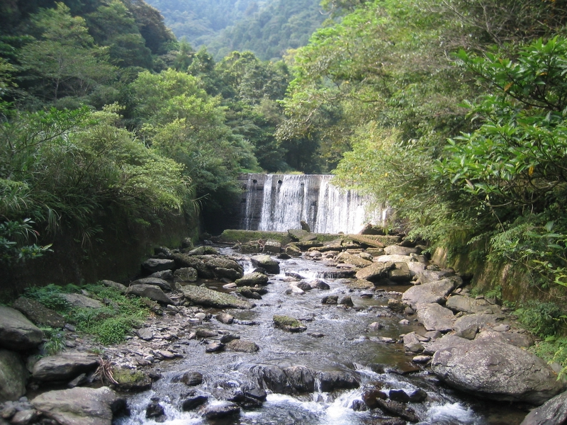 桶後溪攔砂壩