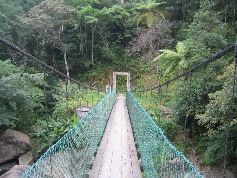 桶後溪台電吊橋