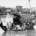 劃龍船 漢布河 1930年