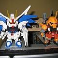 Freedom Gundam - Blaze Zaku Phantom