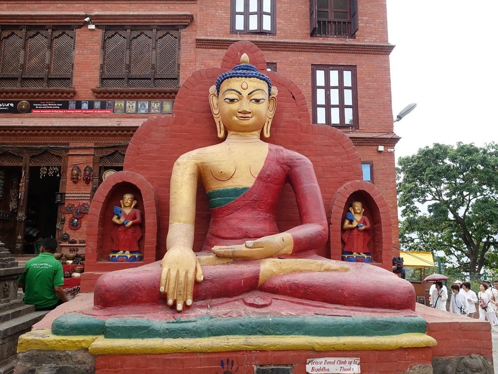 尼泊爾-加德滿都四眼天神猴廟 (3)