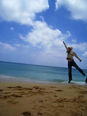 山水沙灘 飛啊