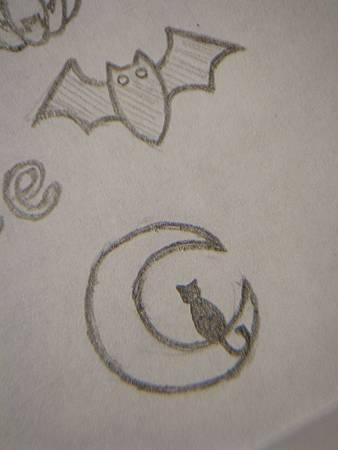 月亮&蝙蝠