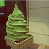 抹茶霜淇淋