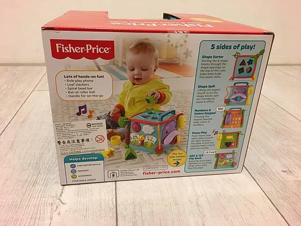 費雪-可愛動物積木盒
