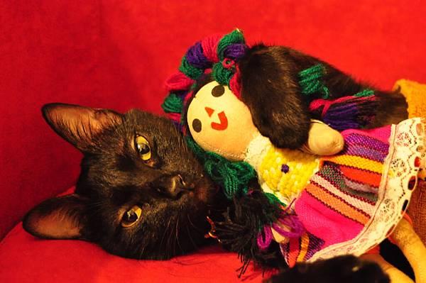 抱墨西哥娃娃