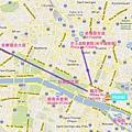 巴黎景點地圖