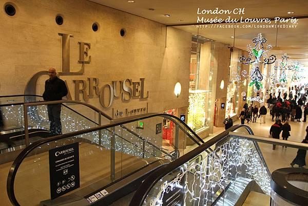 Louvre:羅浮宮美食街02
