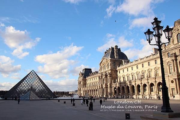 Louvre:羅浮宮01
