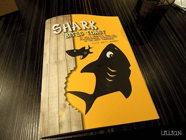 2012-12-01 鯊魚咬土司 menu