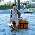 你帶著行李要去哪裡?