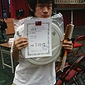 恭喜洋洋獲得最佳鼓手
