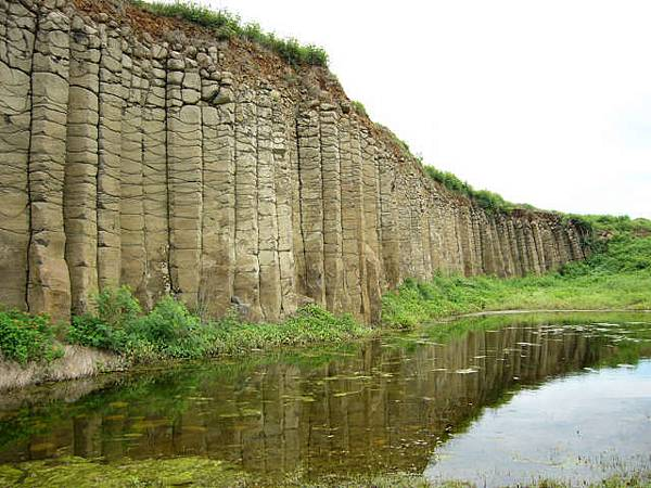 大菓葉柱狀玄武岩1