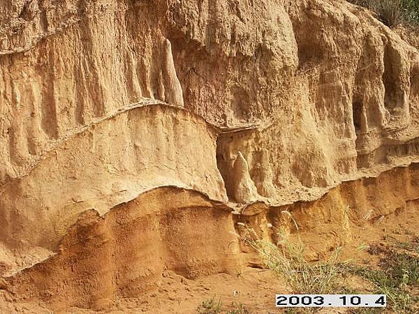 赤馬沉積地層92/10 b