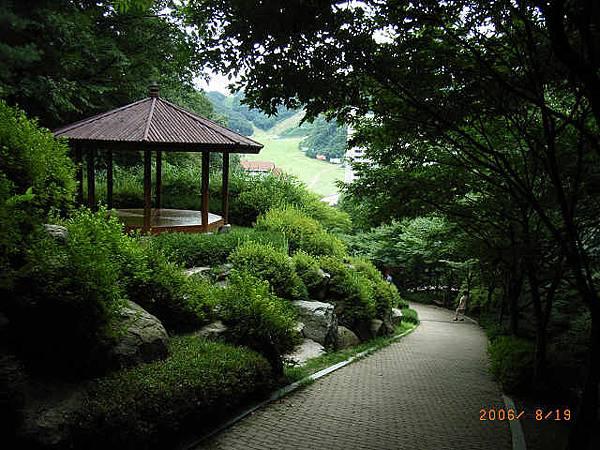 韓國的涼亭