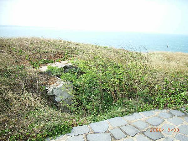 西北方地圖上沒標示出來的碉堡