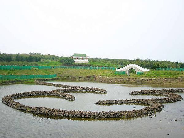 小雙心石滬湖